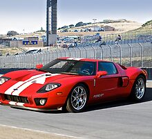 Ford GT at Monterey by DaveKoontz