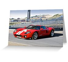 Ford GT at Monterey Greeting Card