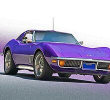 1970 Chevrolt Corvette C3 by DaveKoontz