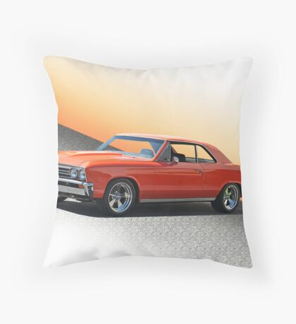 1967 Chevelle Malibu Throw Pillow