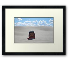 The Old Laughing Lady Framed Print