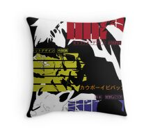 Bebop Blues Throw Pillow