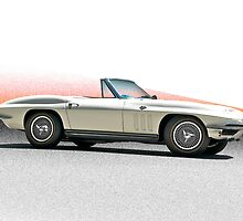 1966 Chevrolet Corvette Convertible by DaveKoontz