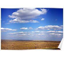 Big Sky Country, Montana Eastern Plains Poster