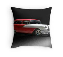 1956 Pontiac Laguna Station Wagon Throw Pillow