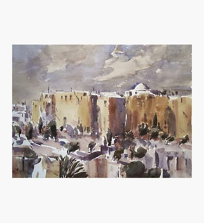 Middle Eastern Town Photographic Print