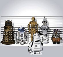 These Are Not The Droids You're Looking For by Colin Donegan