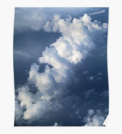 Diagonal Cloud  Poster