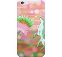 Headbanging Mohawk Foxes iPhone Case/Skin