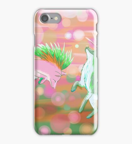 Headbanging Mohawk Foxes iPhone Case/Skin