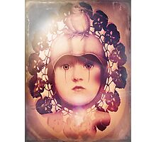 The Third Eye ~ doilied + colored Photographic Print