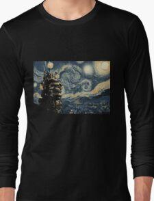 Howl's Stary Night Long Sleeve T-Shirt