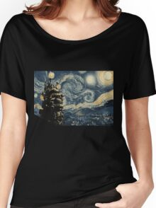 Howl's Stary Night Women's Relaxed Fit T-Shirt