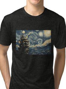 Howl's Stary Night Tri-blend T-Shirt