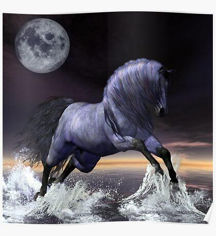 Midnight's Moon Poster