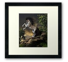The Rearing Horse Framed Print
