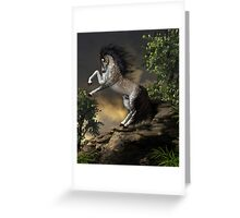 The Rearing Horse Greeting Card