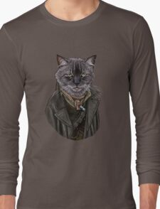 War Doctor Mew Long Sleeve T-Shirt