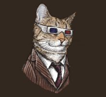 10th Doctor Mew 3D Glasses T-Shirt