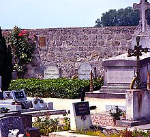 Last Resting Place of Vincent Van Gogh, France. by johnrf