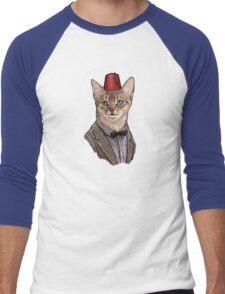 11th Doctor Mew Men's Baseball ¾ T-Shirt