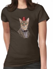 11th Doctor Mew Womens Fitted T-Shirt