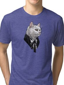 1st Doctor Mew Tri-blend T-Shirt