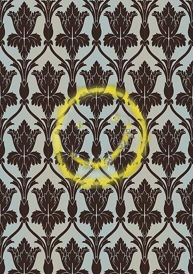 221b Wall Smiley by fuesch