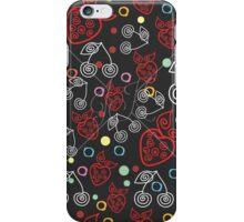 Berry Pattern Dark iPhone Case/Skin