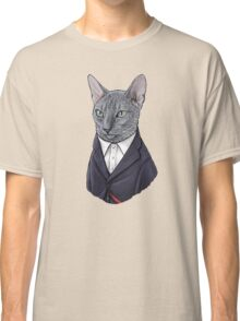 12th Doctor Mew Classic T-Shirt