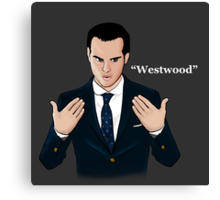 """Westwood"" - Moriarty Canvas Print"