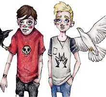 Bird Boys by Samantha Lusher
