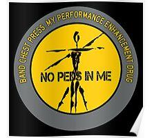 Band Chest Press - My Performance Enhancement Drug Poster