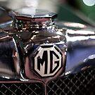 Old MG by Jeremy  Barré