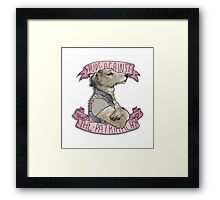 Pups Against the Patriarchy  Framed Print