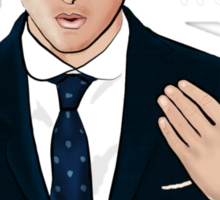 """""""Westwood"""" - Moriarty Sticker"""