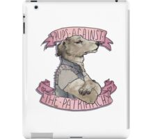 Pups Against the Patriarchy  iPad Case/Skin