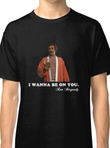 "Anchorman - Ron Bergundy ""Seduction"" Classic T-Shirt"