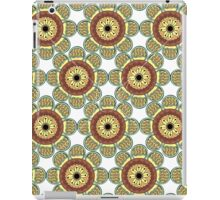 Abstract Flowers Seamless iPad Case/Skin