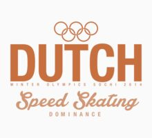 Dutch - Speed Skating (Orange) by moombax