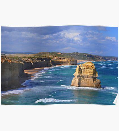 Ocean Rocks Australia  Poster