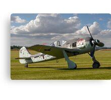Flug Werk Fw 190A-8N nachbau G-FWAB Canvas Print