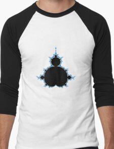 Mandelbrot Fractal Men's Baseball ¾ T-Shirt
