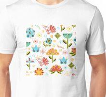 Flower Fabric Unisex T-Shirt