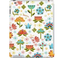 Flower Fabric iPad Case/Skin