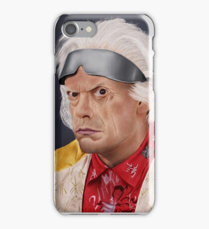 Emmett Brown iPhone Case/Skin