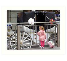 Princess in waiting Art Print
