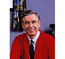 Mr.Rogers Photographic Print