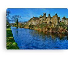 Neath Abbey & Tennant Canal Canvas Print