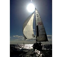 St Kilda twilight sailing Photographic Print